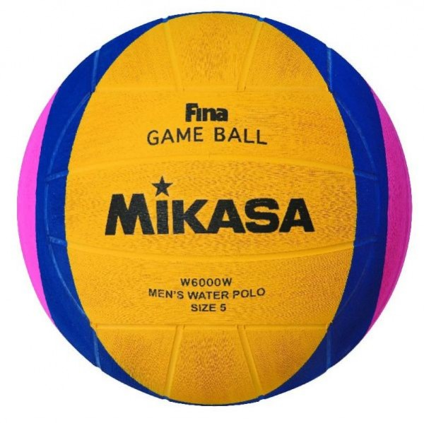 Mikasan Wasserball W6000W FINA Men Game Ball 1203