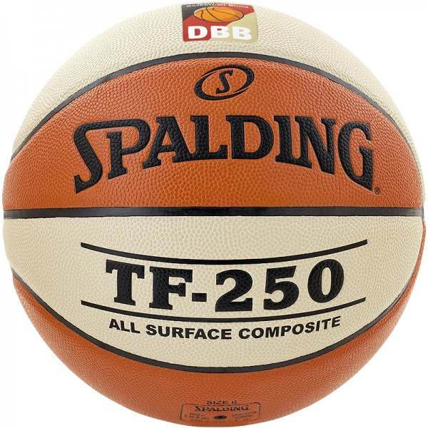 Spalding Basketball DBB TF 250 orange/weiß