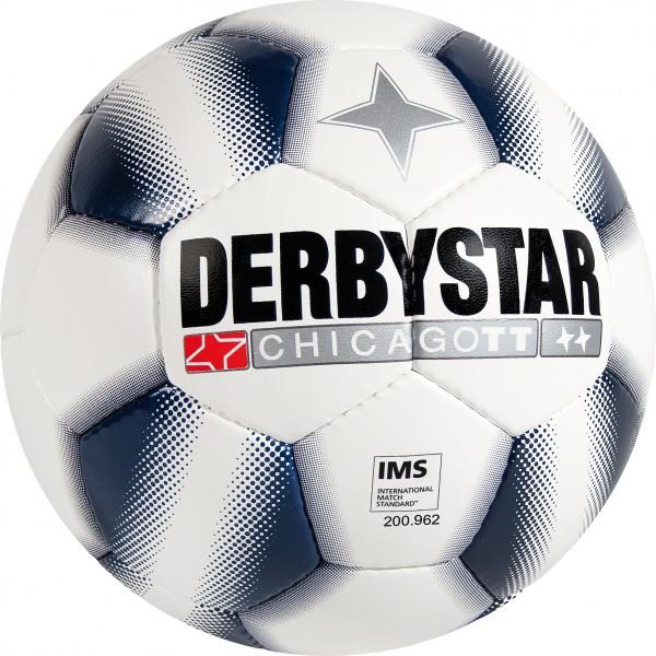Derbystar Fußball Chicago TT weiß/blau
