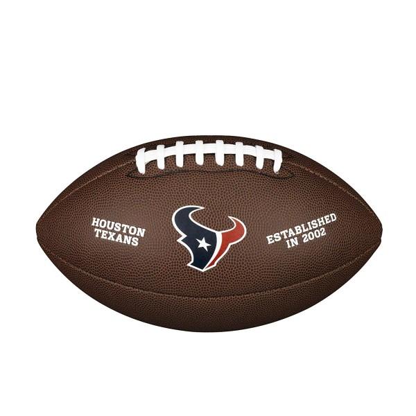 Wilson Football NFL Team Logo Housten Texans WTF1748HU