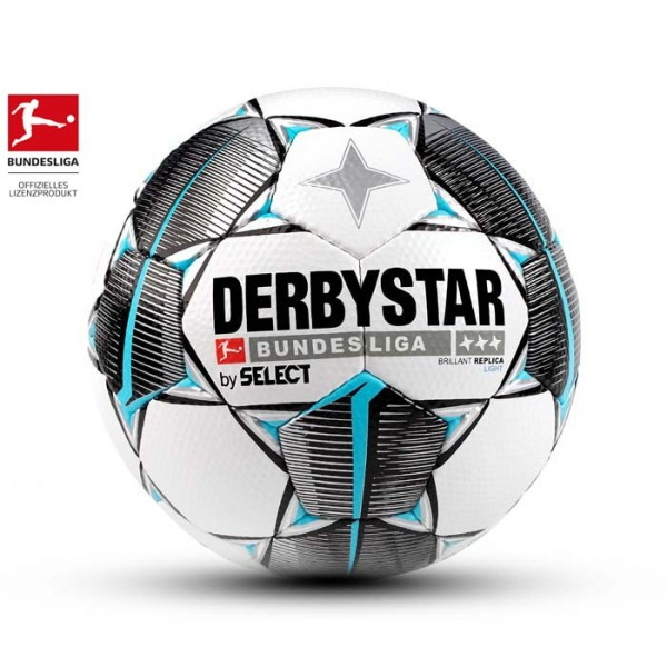 Derbystar Bundesliga Fußball Brillant Replica Light