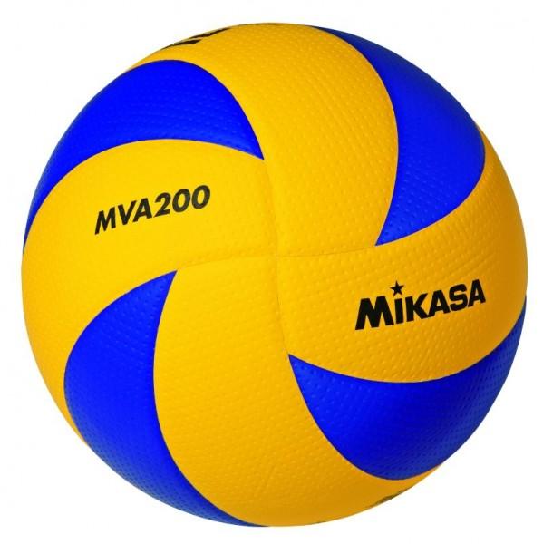 Mikasa Hallenvolleyballpaket MVA 200 1164 - 5 oder 10 Bälle
