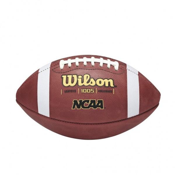 Wilson Football NCAA 1005 Leather Football WTF1005B Official