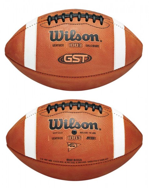 Wilson Football GST Gameball WTF1003B